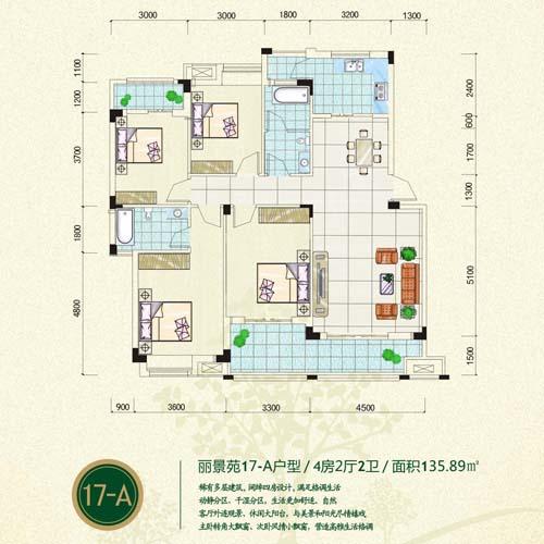 洋溪花林房子复式结构图